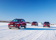 雪佛兰全功能车系冰雪体验