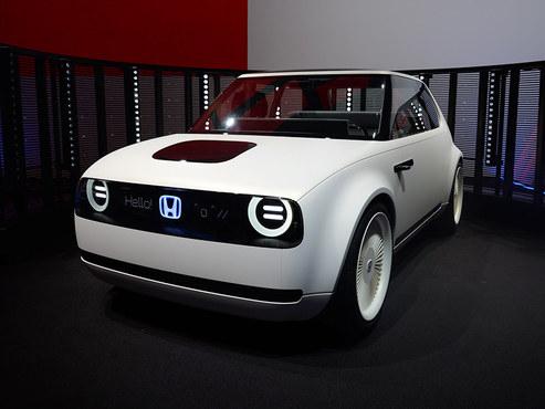 法兰克福车展 本田Urban EV概念车