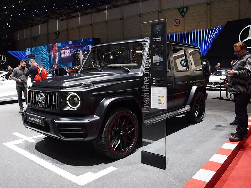 2018日内瓦车展实拍 梅赛德斯-AMG G 63